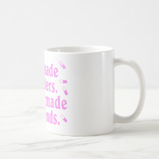 God made us sisters coffee mug