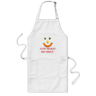 GOD MAKES ME SMILE! RELIGIOUS  APRON