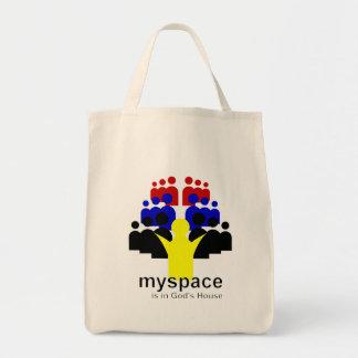 God MySpace Canvas Bag
