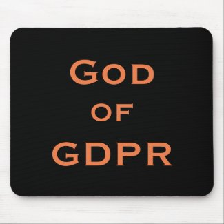 God of GDPR Specialist Funny Joke Gift Idea