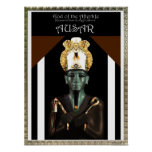 God of the Afterlife- Ausar (Osiris) Poster