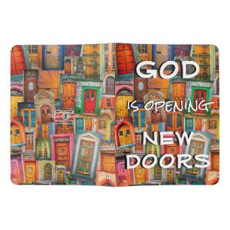 God Opens Doors Colorful Unique Extra Large Moleskine Notebook