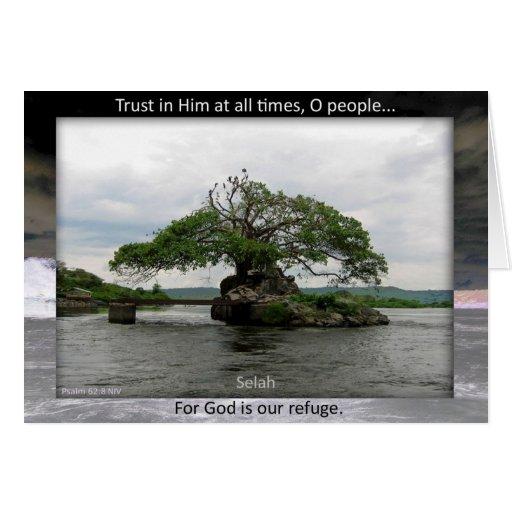 God Our Refuge greeting card