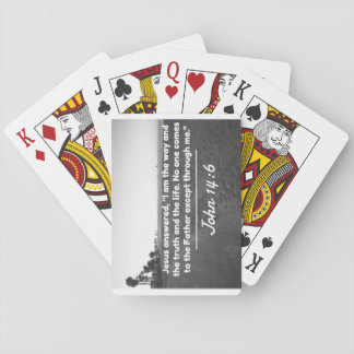 "God Quotes: John 14:6 -- ""The Way and the Truth"" Poker Deck"