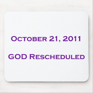 GOD Rescheduled! Mouse Pad