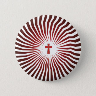 God Rocks - Christian Rock Gear 6 Cm Round Badge