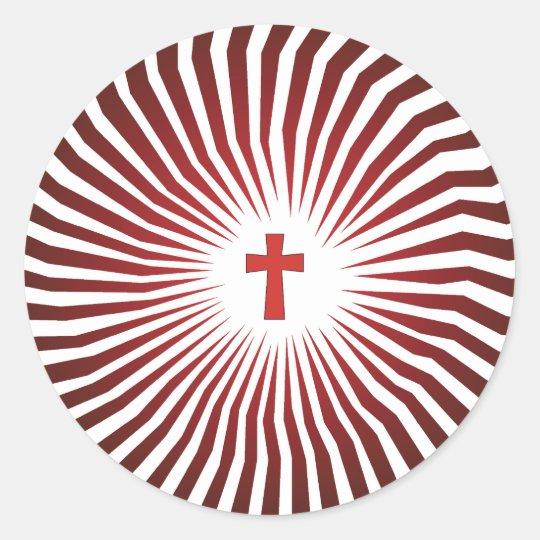 God Rocks - Christian Rock Gear Round Sticker