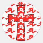 God Rocks - Christian Rock Gear! Round Stickers