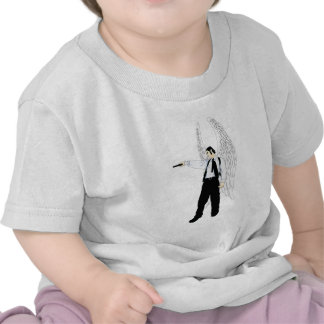 God s Hitman Angel With a Pistol T-shirt