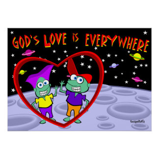 God s Love is Everywhere Posters