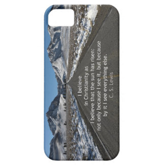 God s Majesty and belief iPhone 5 Cover