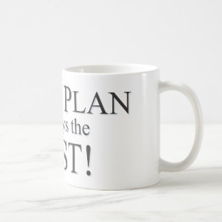 God's Plan is the Best Plan Coffee Mugs