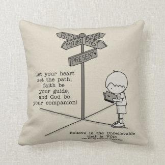 God's Your Companion Throw Pillow
