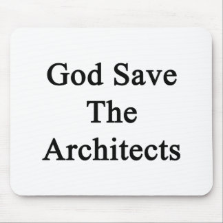 God Save The Architects Mousepads