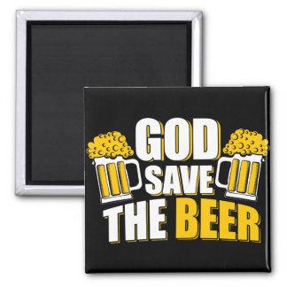god save the beer magnet