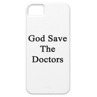 God Save The Doctors iPhone 5/5S Cover