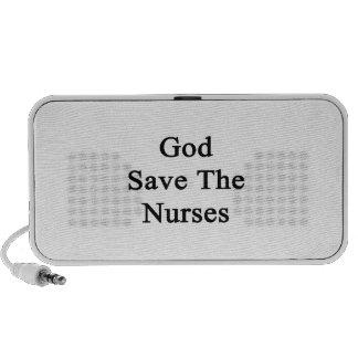God Save The Nurses iPod Speakers
