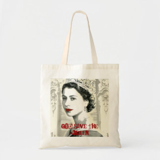 God Save the Queen Budget Tote Bag