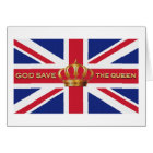 God Save The Queen Card