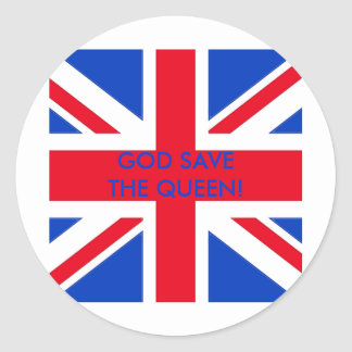 GOD SAVE THE QUEEN! STICKERS
