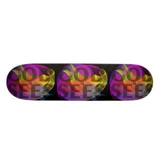 God Sees Skate Board Deck