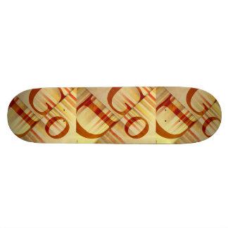 God 21.6 Cm Skateboard Deck