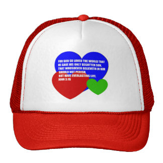 God So Loved the World Bible Verse Cap