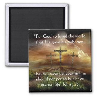 God so Loved the World Magnet