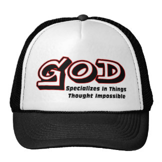 God specializes in things thought impossible cap