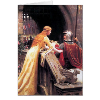 God Speed by Edmund Blair Leighton Card