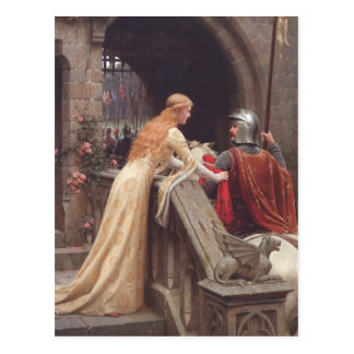 God Speed! [Edmund Blair Leighton] Postcard