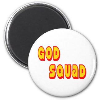 God Squad Refrigerator Magnet