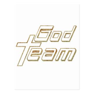 God Team 2 terre 2 Postcard