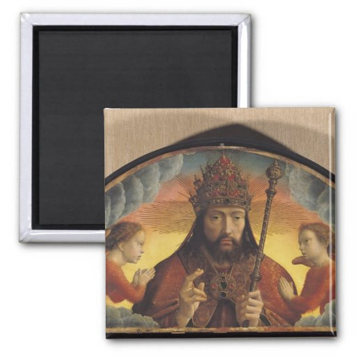 God the Father Blessing, 1506 Refrigerator Magnet