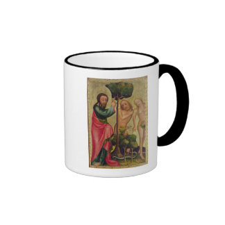 God the Father Punishes Adam and Eve Coffee Mug