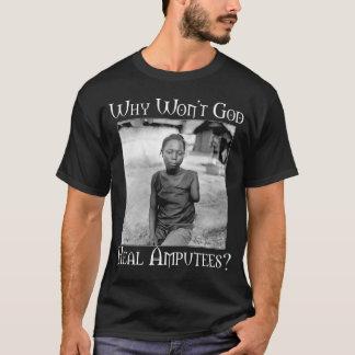 God vs Amputees T-Shirt