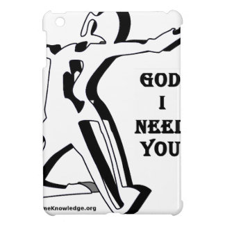 God Where Are You I Need You Now iPad Mini Case
