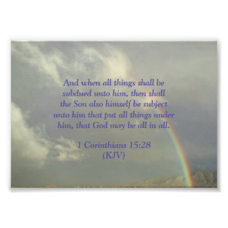 God will be All in All Photo