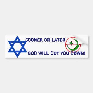 God Will Cut You Down! Bumper Sticker