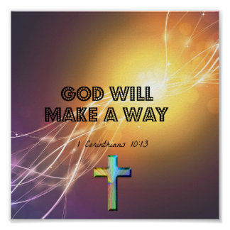 God Will Make A Way Poster