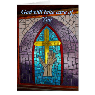 God will take care of you card