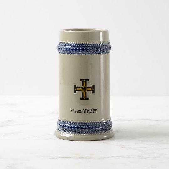 God Wills It Beer Stein
