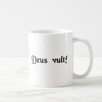 God wills it mug