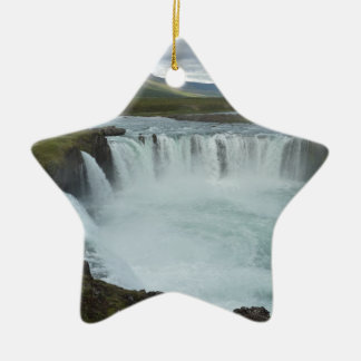 Godafoss Christmas Ornament