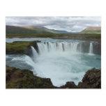 Godafoss Iceland Postkarten