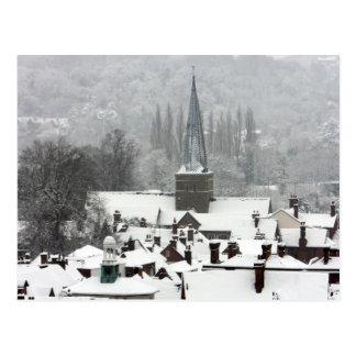 Godalming Snow Post Card