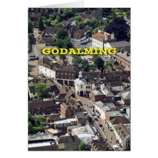 Godalming Surrey England Card