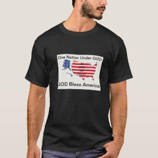 GODBless... In GOD... Under GOD T-Shirt