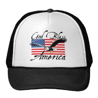 GodBlessAmerica_v3 Mesh Hats