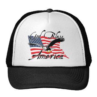 GodBlessAmerica_v4 Trucker Hat